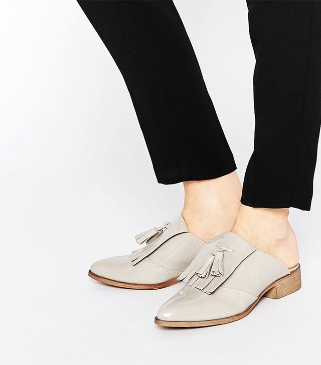 ASOS Monument Leather Mules