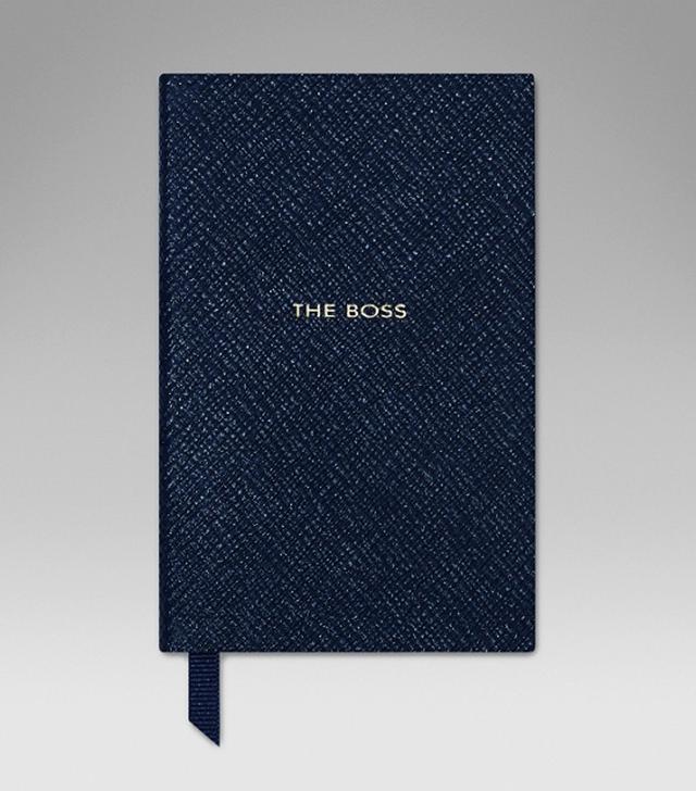 Smythson The Boss Wafer Notebook