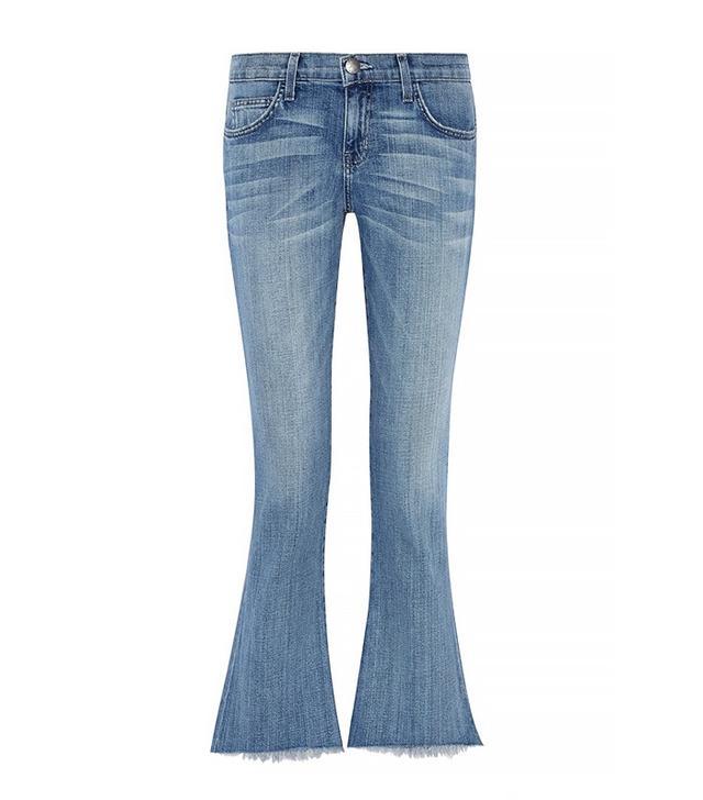 Current/Elliott The Flip Flop Low-Rise Flared Jeans