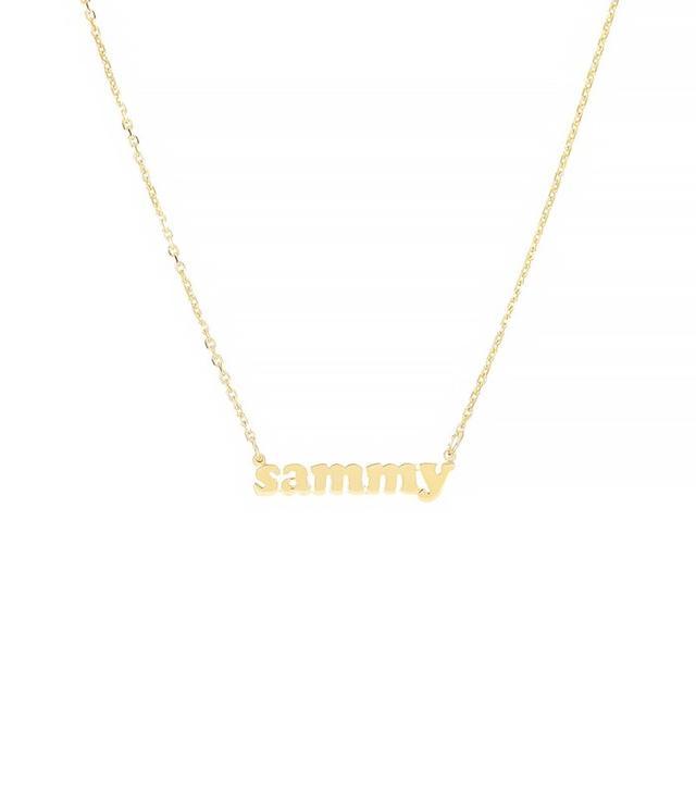 Lola James Mini Me Necklace in 14K Gold