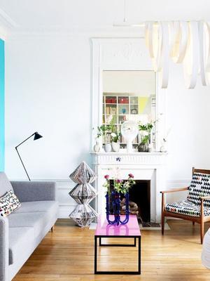 Inside a Modern Haussmann Home With Bold Colours