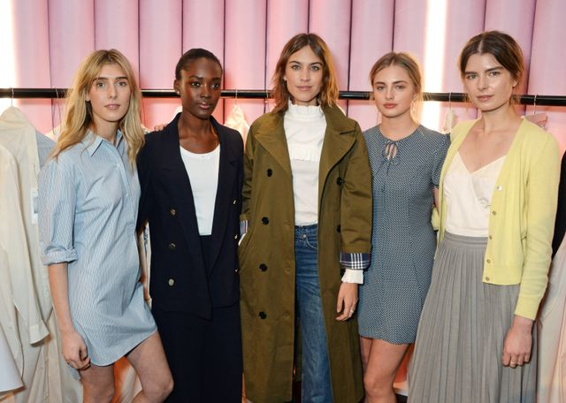Alexa Chung wearing the Archive collection along with her models. The premise of the line—in case you've been living against your willunder a rock and have missed this vital piece of...