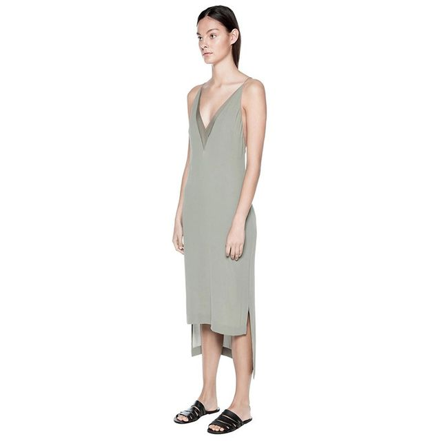 Dion Lee Sheer Fine Line Cami Dress