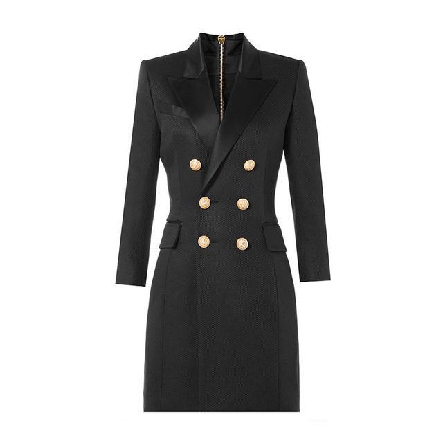 Balmain Silk Twill Dress