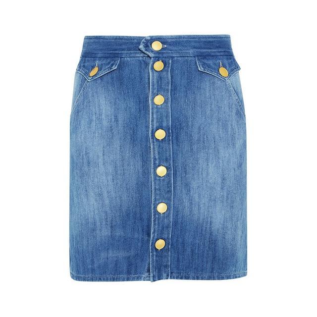 Étoile Isabel Marant Odelle Denim Skirt