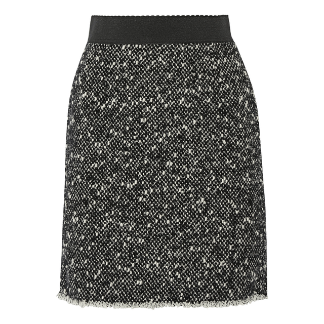 Dolce & Gabbana Wool-Blend Bouclé Mini Skirt