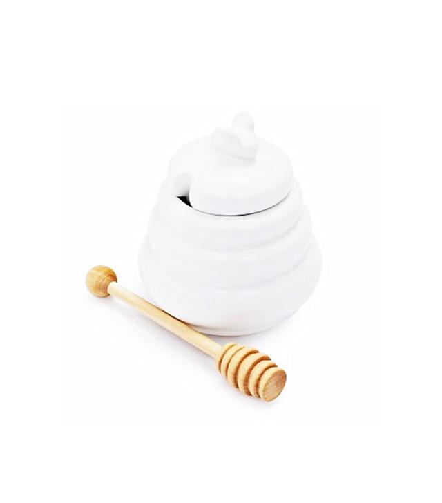 Sur La Table Honey Pot With Stirrer