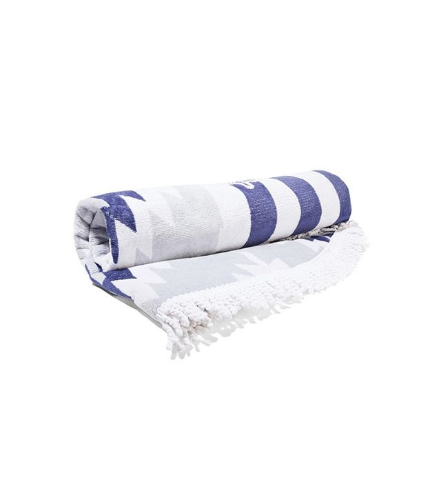 The Beach People The Montauk Cotton-Terry Towel