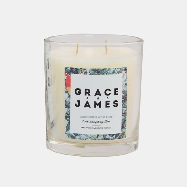 Grace and James Candle