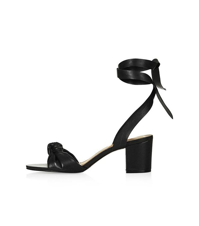 Topshop Not Knotted Mid Sandals