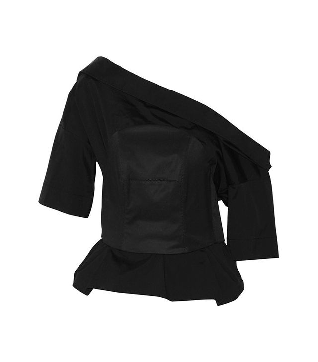 Monse Cotton-Blend Poplin and Twill Top