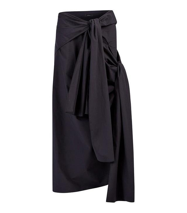 Joseph Poplin Stretch Alva Skirt