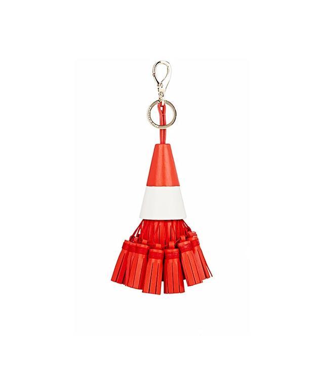 Anya Hindmarch Traffic Cone Tassel Key Chain