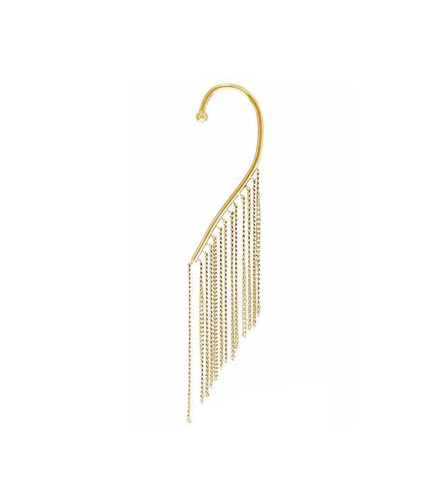 Chloé Delfine Gold-Tone Earrings