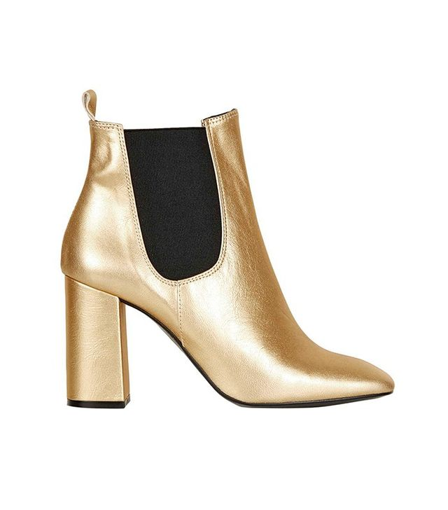 Topshop Maria Flared Chelsea Boots
