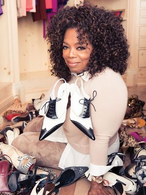 An Exclusive Look Inside Oprah's Harpo Studios Wardrobe—Emmys and All