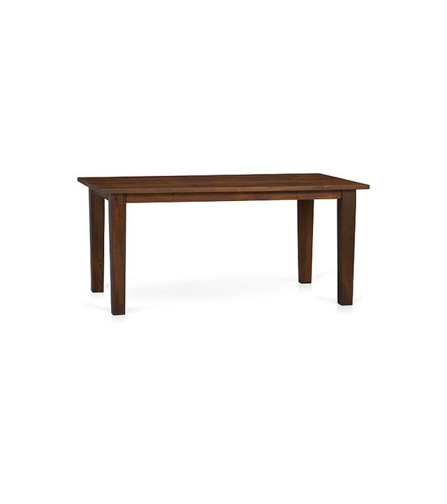 Crate and Barrel Basque Honey Dining Table