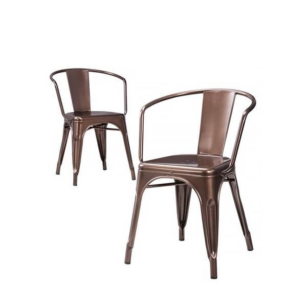 Target Set of 2 Carlisle Metal Dining Chairs