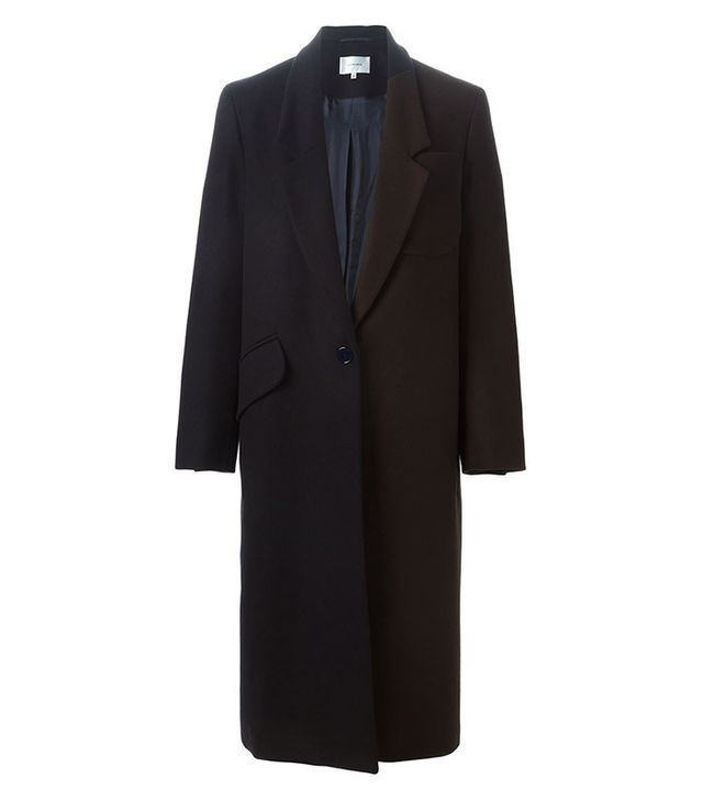 Carven Two Tone Long Coat