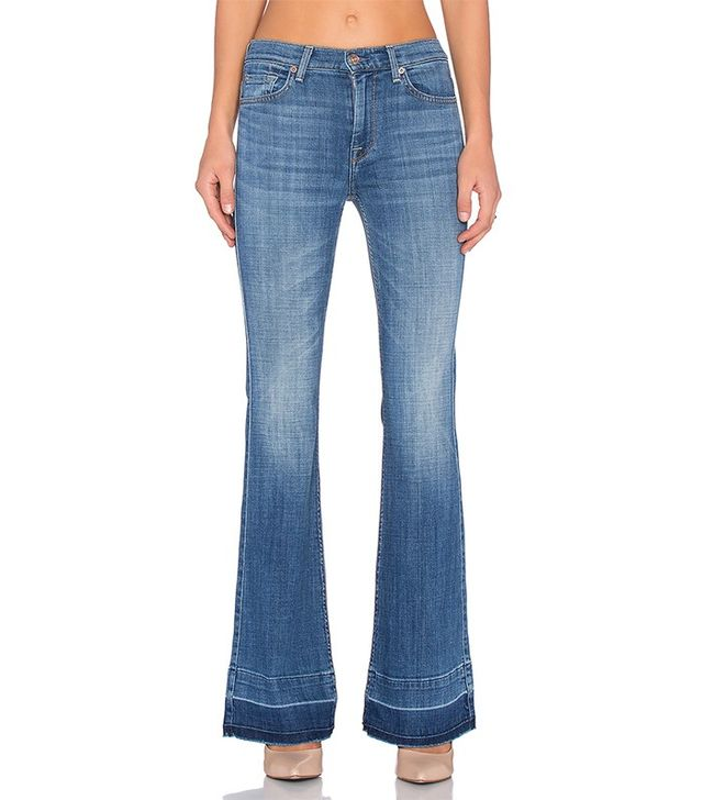 7 for All Mankind Ginger Released Hem