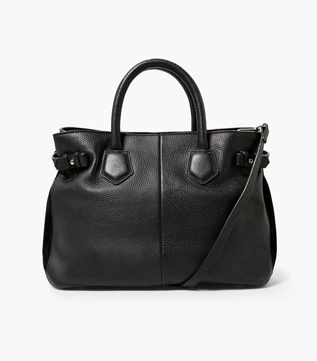 Mango Leather Bag