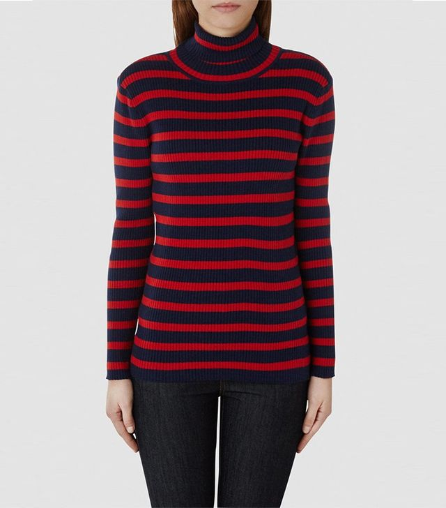 Selected Roll Neck Knitted Pullover