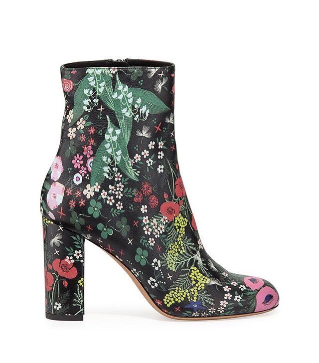 Valentino Garden-Print Jacquard Boot