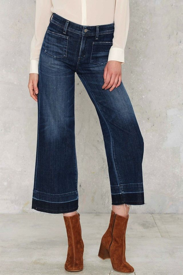 Shop for Womens wide leg jeans, Capris Women's Jeans at Shopzilla. Buy Clothing & Accessories online and read professional reviews on Womens wide leg jeans, Capris Women's Jeans. Find the right products at the right price every time.
