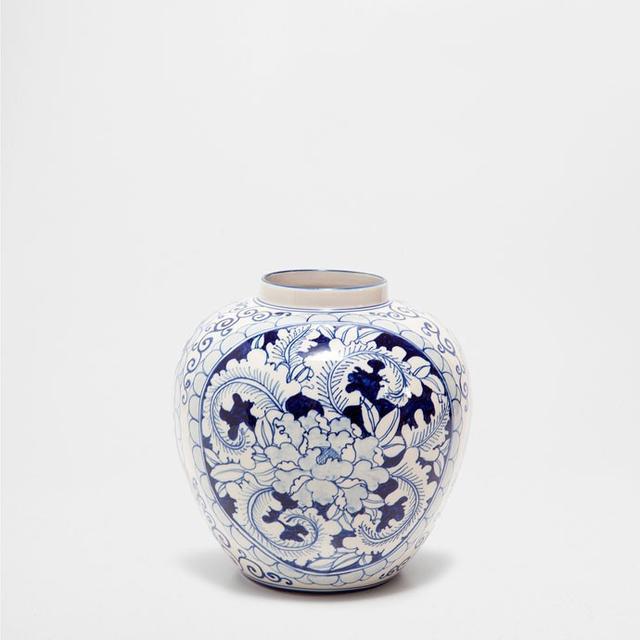 Zara Blue Design Vase