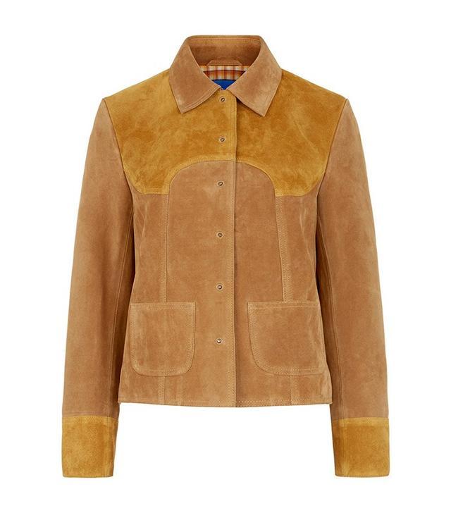M.i.h Jeans Two-Tone Suede Estero Jacket