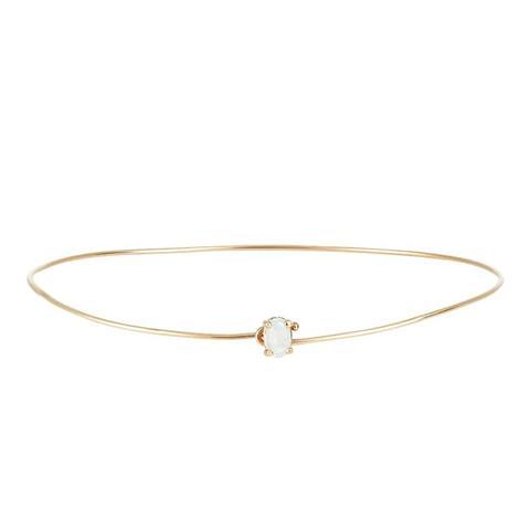 Gemstone Wire Bracelet