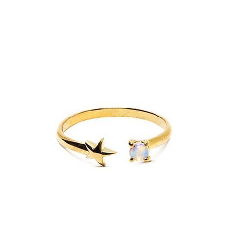 Star Age Opal Star Ring