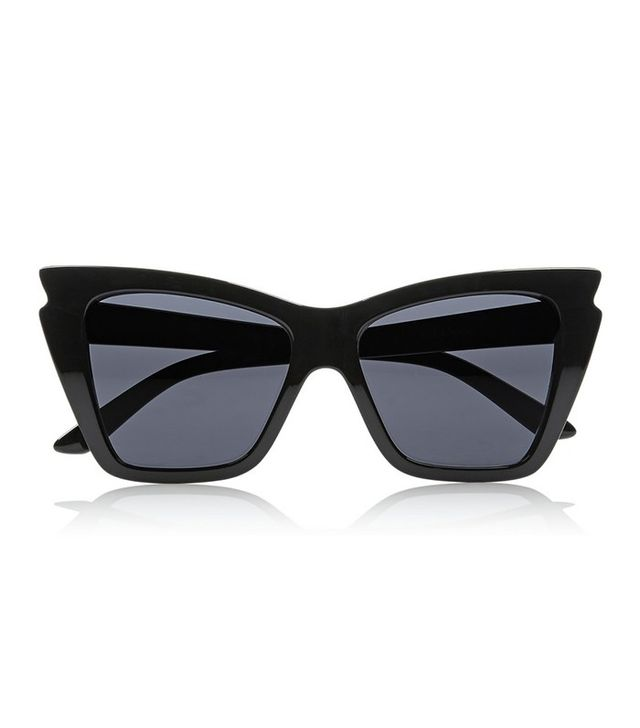 Le Specs Rapture Cat-Eye Acetate Sunglasses