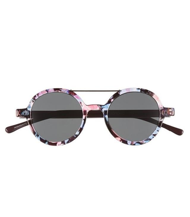 Komono Vivien Round Lens Sunglasses