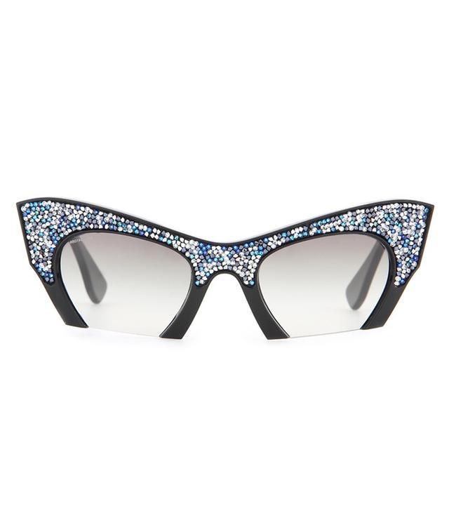 Miu Miu Embellished Sunglasses