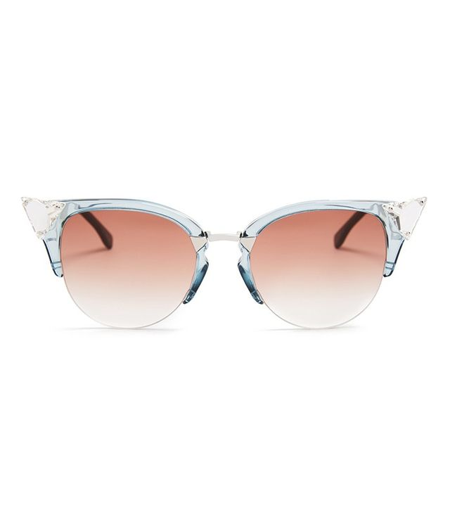 Fendi Embellished Cat-Eye Sunglasses