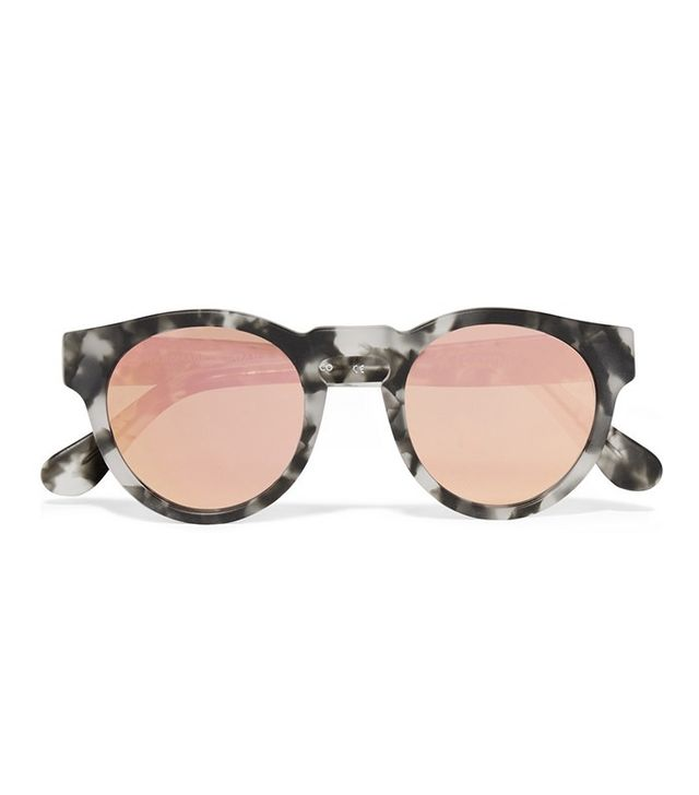 Westward Leaning x Olivia Palermo Voyager Acetate Mirrored Sunglasses