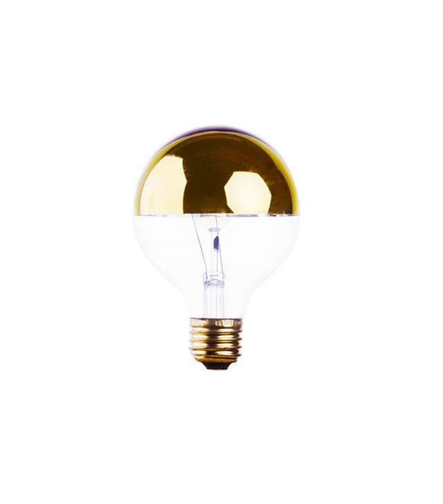 Poketo Gold Mirrored Globe Bulb