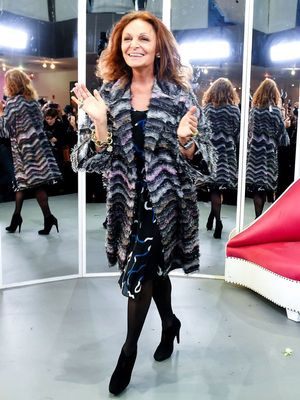 Diane von Furstenberg Perfectly Explains the Power of Shoes
