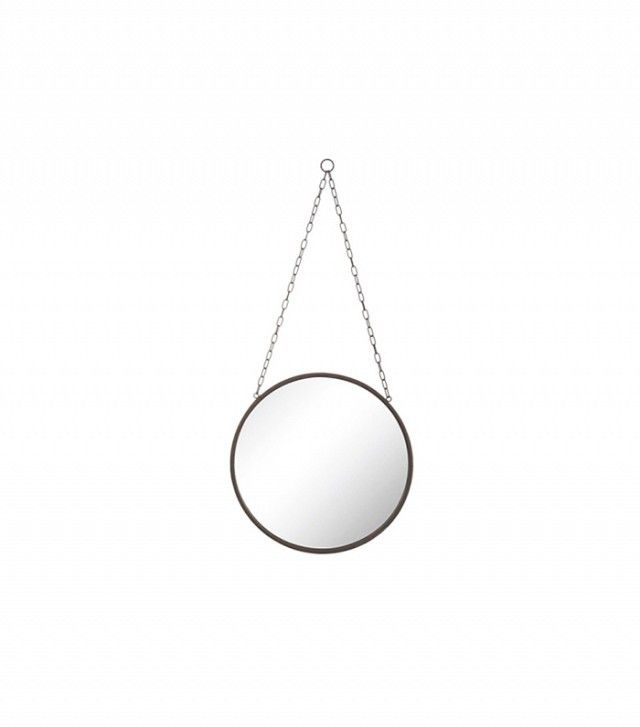 Dot & Bo Hanging Around Chain-Link Round Mirror
