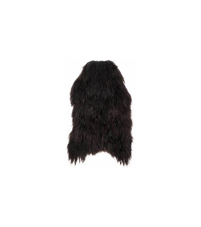 The Line Natural Black Icelandic Sheepskin
