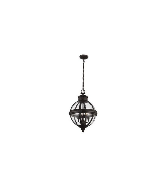 Feiss Adams 3 Light Globe Pendant