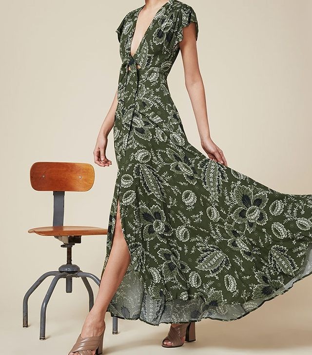 Reformation Orchid Dress