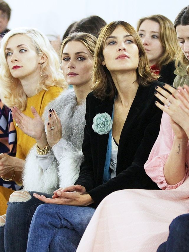 The FROW at Emilia Wickstead AW16: