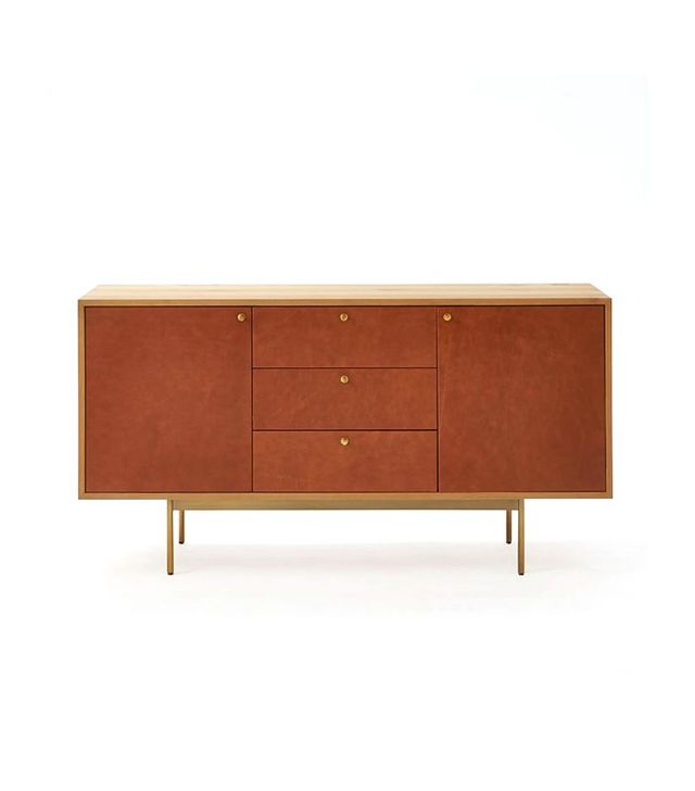 Michael Robbins Leather Front Buffet