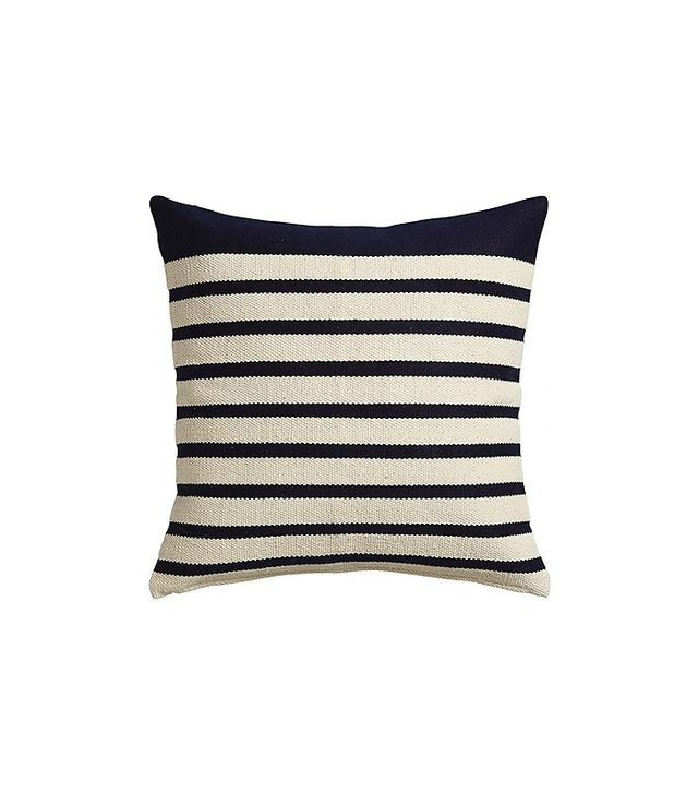 CB2 Division Navy Pillow