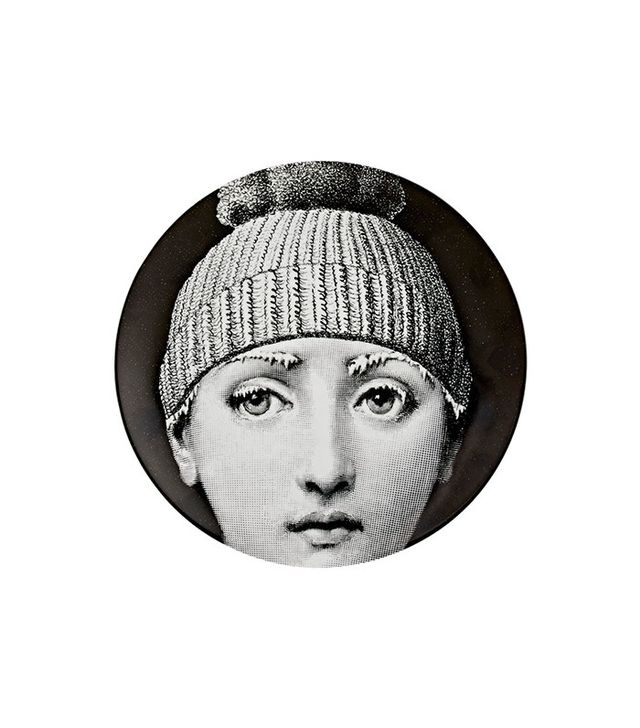 Fornasetti Frozen Face Wall Plate
