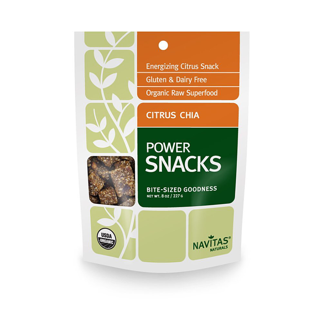 Navitas Naturals Organic Citrus Chia Superfood Power Snack