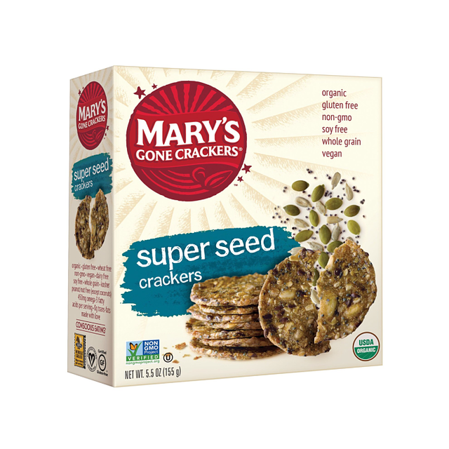 Mary's Gone Crackers Super Seed