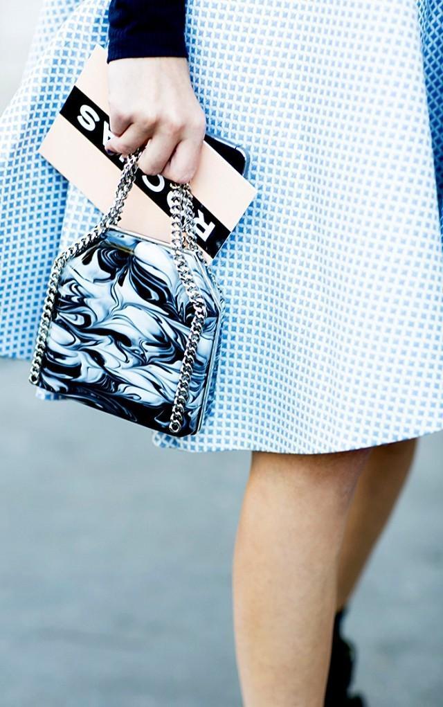 Day 6: Add an adorable mini bag to your handbag collection.
